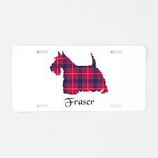 Terrier - Fraser Aluminum License Plate
