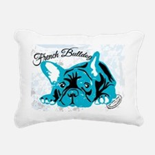 Cute French bulldog Rectangular Canvas Pillow