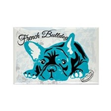 Frech Bulldog Vintage Magnets