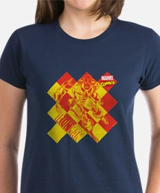 Iron Man Checkered Tee