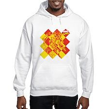 Iron Man Checkered Hoodie