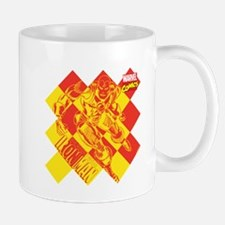 Iron Man Checkered Mug