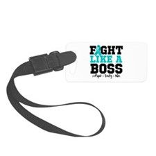 Peritoneal Cancer Fight Boss Luggage Tag