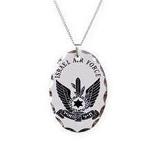 IAF Black Logo Necklace
