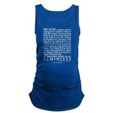 Because Women Maternity Tank Top