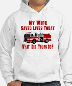Wife-What Did Yours Do? Hoodie
