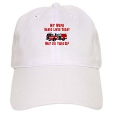 Wife-What Did Yours Do? Baseball Cap