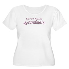Soon To Be Known As Grandma Women's Plus Size Scoo