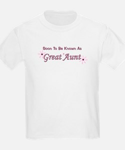 Soon To Be Great Aunt T-Shirt