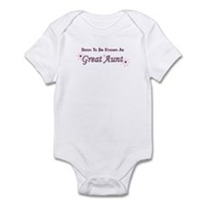 Soon To Be Great Aunt Infant Bodysuit