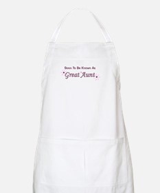 Soon To Be Great Aunt BBQ Apron