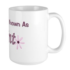 Soon To Be Known As Aunt Large Mug