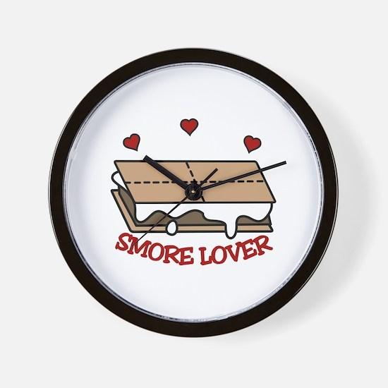 Smore Lover Wall Clock