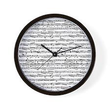 Cool Songs Wall Clock