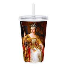 Queen Victoria Acrylic Double-wall Tumbler