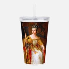 Queen Victoria Acrylic Double-wall Tumbler