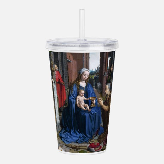 Mabuse: Adoration of t Acrylic Double-wall Tumbler