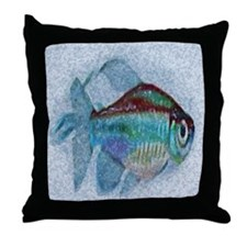 Cute Tropic fish Throw Pillow