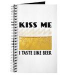 Kiss Me Beer Journal