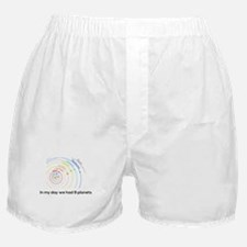 9 planets Boxer Shorts