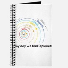 9 planets Journal