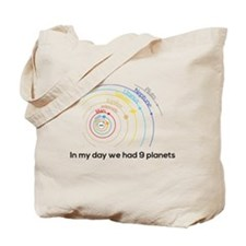 9 planets Tote Bag