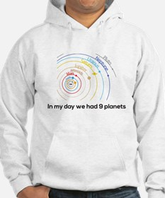 9 planets Hoodie