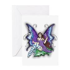 Hair Stylist Fairy Design Greeting Card