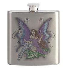 Hair Stylist Fairy Design Flask