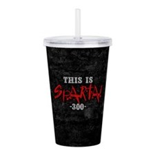300 This Is Sparta Acrylic Double-wall Tumbler
