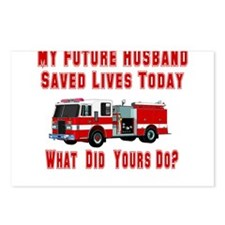 Future Husband-What Did Yours Postcards (Package o