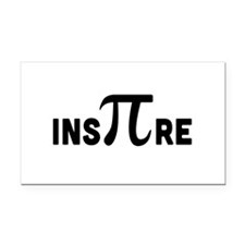 InsPIre Rectangle Car Magnet
