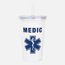 medic star of life.... Acrylic Double-wall Tumbler