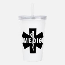 Medic EMS Star of L... Acrylic Double-wall Tumbler