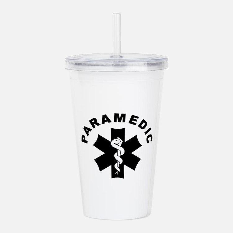 Paramedic Star Of Life Acrylic Double-wall Tumbler