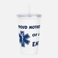 proud mother emt.pn... Acrylic Double-wall Tumbler