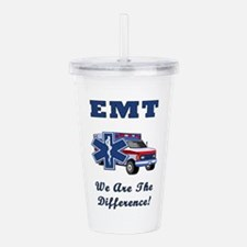 EMT We Are The Difference Acrylic Double-wall Tumb