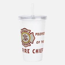 Fire Chief Property Acrylic Double-wall Tumbler