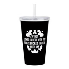 Rorschach Locked In Watchmen Quote Acrylic Double-