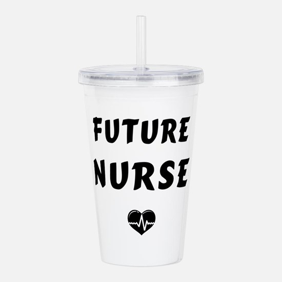 Future Nurse Acrylic Double-wall Tumbler