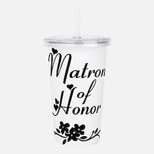 Classic Matron of Honor Acrylic Double-wall Tumble