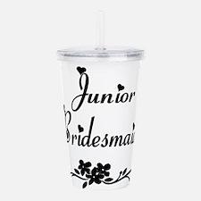 Junior Bridesmaid Acrylic Double-wall Tumbler