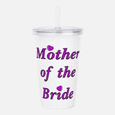 Mother of the Bride Love Acrylic Double-wall Tumbl