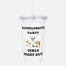 bachelorette martinis GNO.png Acrylic Double-wall