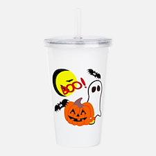 Halloween Boo Friends Acrylic Double-wall Tumbler