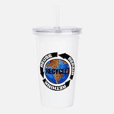 Recycle World Acrylic Double-wall Tumbler