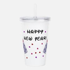 Baby New Year Party Acrylic Double-wall Tumbler