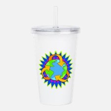 sun colors.png Acrylic Double-wall Tumbler