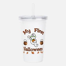 babys first.png Acrylic Double-wall Tumbler