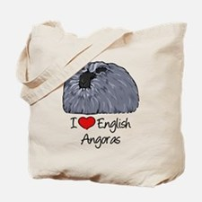 I Heart English Angoras Tote Bag